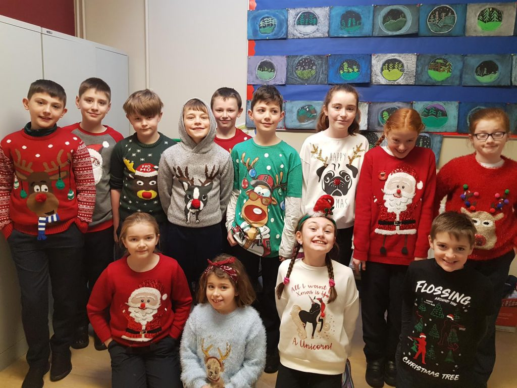 National Christmas Jumper Day 2019.Christmas Jumper Day 2018 St Teresa S National School